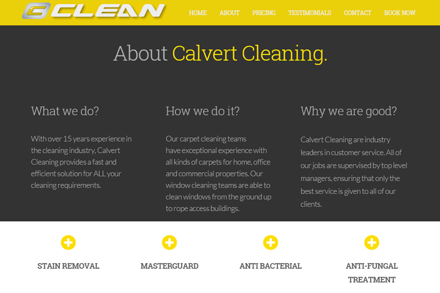 Calvert Cleaning